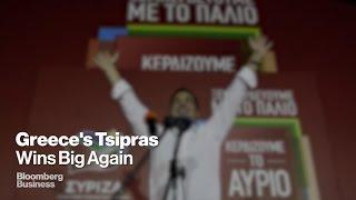 Greece: Alexis Tsipras and Syriza Win Decisive Victory