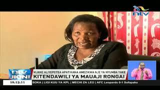 Mwili wa mjane wapatikana umezikwa nje ya nyumba yake, Rongai