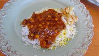 Meat and Potato Stew | Khoresh gheimeh |  خورش قیمه