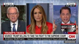 CNN panelists spar over demand for Trump's tax returns
