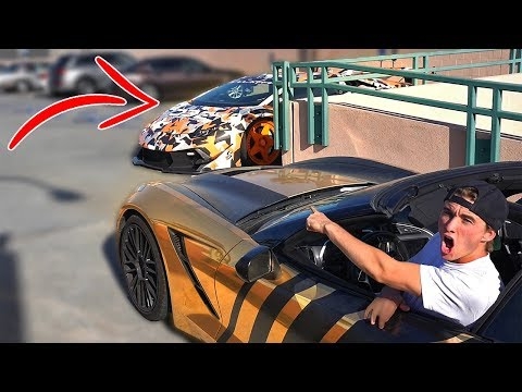 Hide and seek with SUPERCARS v2 Beverly Hills