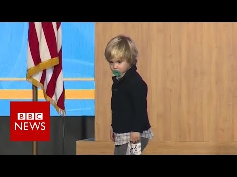 Xxx Mp4 US Governor S Sleepy Son Invades Stage BBC News 3gp Sex