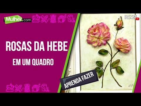 Rosas da Hebe em um quadro por Valeria Soares 07 08 2013 Mulher P 2 2