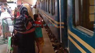 Chottola express train | Inside/Outside full review | Dhaka to Chittagong |Bangladesh Railway (BR)