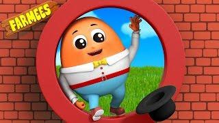 Humpty Dumpty | Nursery Rhyme | Songs For Children | Kids Rhymes | Baby Song by Farmees