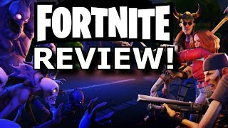 Fortnite Review! COOL or RIP-OFF? (PS4/Xbox One)
