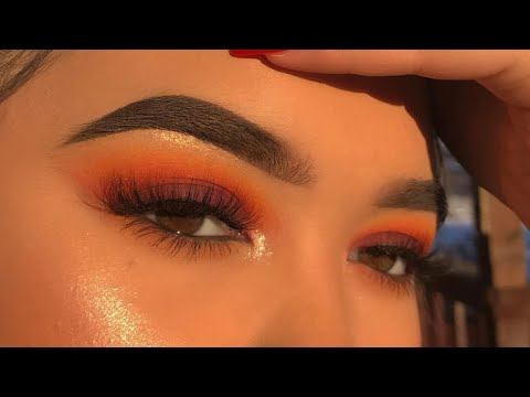 Download SUNSET INSPIRED MAKEUP TUTORIAL free