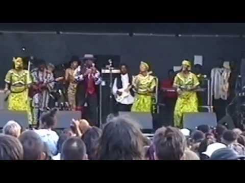 Kanda Bongoman Live Full show in London-Hackney 1995