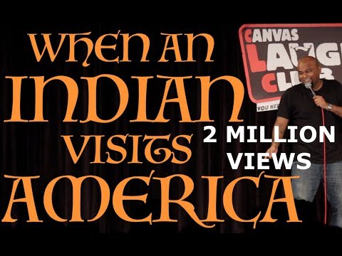 When An Indian Visits America | Stand up Comedy by Nishant Tanwar