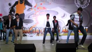 Gabbarsingh song by SRKR COLLEGE ECE Guys