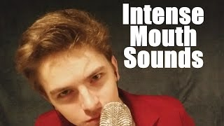 (ASMR) Intense Mouth Sounds (Breathing, Ear Eating, Gum Chewing) Obviously