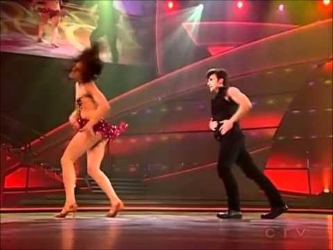 Hot Canadian salsa The one arm lift