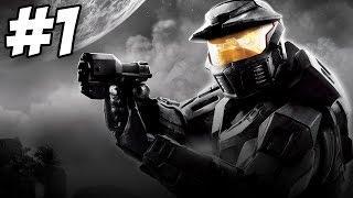 Halo: Combat Evolved Anniversary Walkthrough | Pillar of Autumn | Part 1 (Xbox One)
