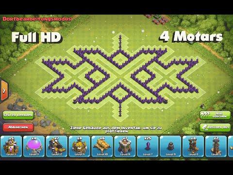 Clash of Clans - Epic TH8 Triple xXx Farming Base ➞Speed Build