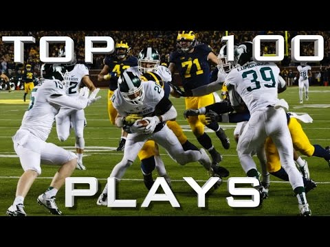 Top 100 Plays of the 15 16 College Football Season