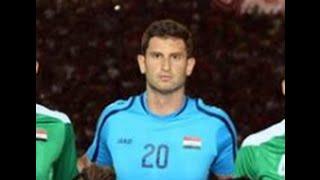 تصديات شوان جلال في اول مبارة مع العراق Shwan Jalal