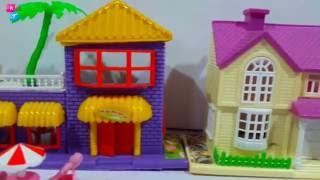 Mainan Rumah Rumahan Barbie  👼 Happy Warm Dream House 💖 Mainan Anak Perempuan 💖 Kids Toys