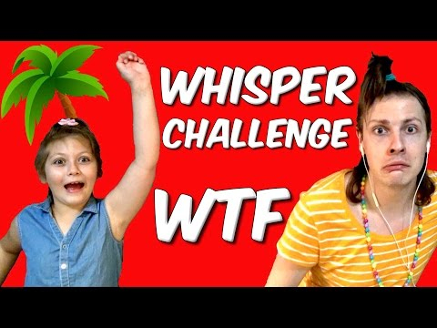 VIDEO SURPRISE AVEC MA NIECE ! WHISPER CHALLENGE SPECIAL - NADEGE CANDLE
