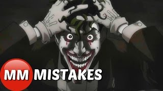 10 Hidden Movie Mistakes You Missed In Batman The Killing Joke | Batman The Killing Joke Movie Goof