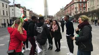 MR EAZI AKWAABA DANCE TUTORIAL IN DUBLIN (GHANABOYZ)