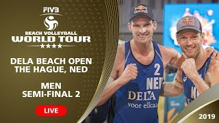 The Hague 4-Star 2019 - Men SF2 - Beach Volleyball World Tour