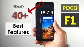 Top 40+ Poco F1 Best Features & tips and tricks