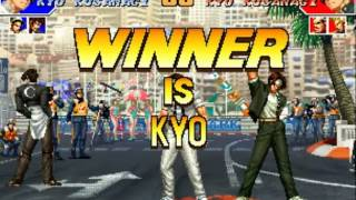 The King Of Fighters'97 Kyo-Iori-Chizuru (Secret Final)