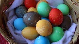 آموزش رنگ کردن تخم مرغ های هفت سین 2 - How To Coloring Haft Sin Eggs