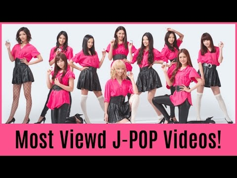 Download The Top 50 Most Viewed J-POP Videos!