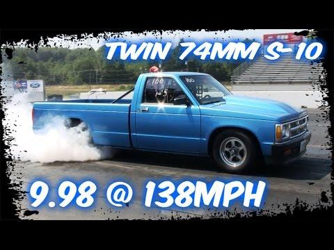 Xxx Mp4 Twin Turbo 74mm S10 Street Truck At The Track 3gp Sex