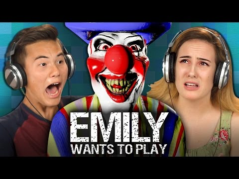 EMILY WANTS TO PLAY Teens React Gaming