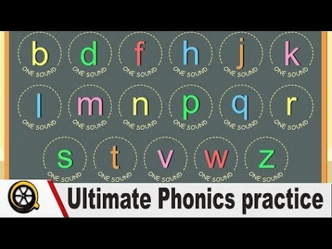 Reading English Ultimate Phonics practice