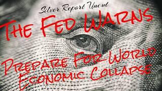 The Fed Warns Prepare For World Economic Collapse! Zero Lower Bound
