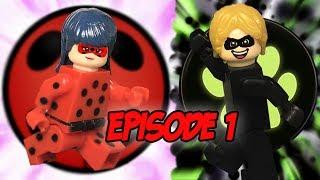 Episode 1 Miraculous Lego LadyBug. New 2017