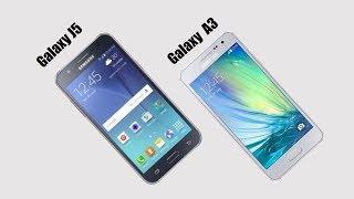 Samsung Galaxy J5 vs Samsung Galaxy A3 Comparison