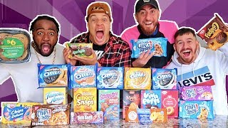 TASTE TESTING EVERY COOKIE EVER MADE! (INSANE COOKIE CHALLENGE)