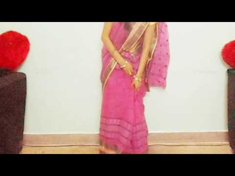 How To Wear Cotton Saree Perfectly-How To Drape Cotton Sari And Look Slim Trim