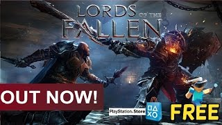 Lords of the Fallen : PlayStation 4  - FREE PSN DOWNLOAD!!!! - OUT NOW!!!! -  PS4 / PRO