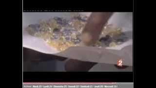 Reportage Antenne 2 Pascal Algier et les pierres precieuses