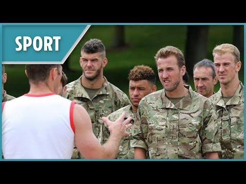Xxx Mp4 England Squad Trained With Royal Marines For The World Cup 3gp Sex