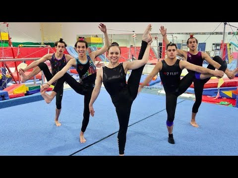 FUNNY GYMNASTICS COMPETITION