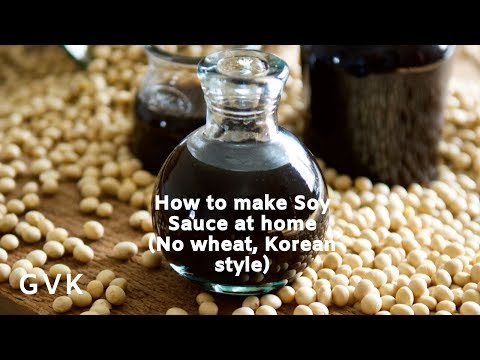 How to Make Soy Sauce at Home