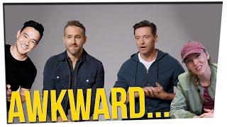 Ryan Reynolds vs. Hugh Jackman (And JK vs WONGFU!!)