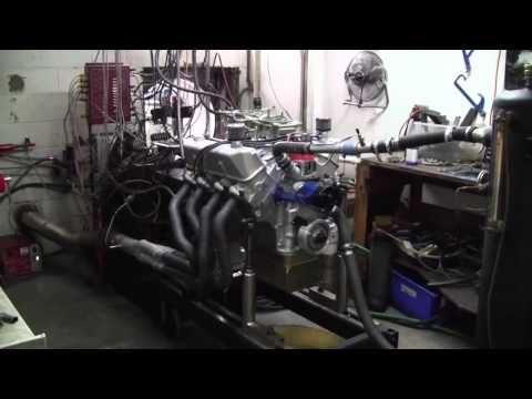 Shelby 427 block 511 cube Ford FE 787 horsepower on dyno