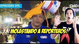 Molestando a Reporteros!