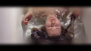 АСМР - ASMR Brushing Wet Hair | Washing Hair in Bathroom | Foam Hair | Water Sounds