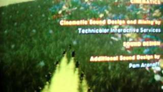 Bee Movie Game PS2 Walkthourgh Part 39 Credits