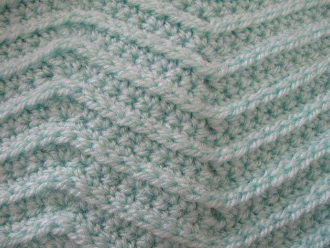 Zig Zag Stitch - Crochet Tutorial
