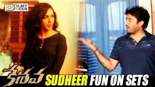 Keshava Movie Making Video || Sudheer Varma Making Fun on Sets | Nikhil, Ritu Varma - Filmyfocus.com