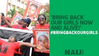 'Bring back our girls, now and alive!'